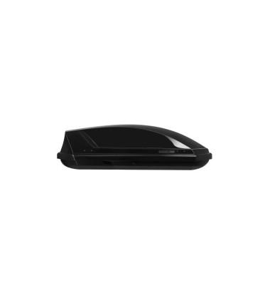 NEUMANN-Adventure 130 tetőbox, fényes fekete színű/295 Liter (131x72x37 cm)