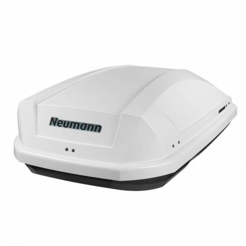 NEUMANN-Adventure 130 tetőbox, fényes fehér színű/295 Liter (131x72x37 cm)