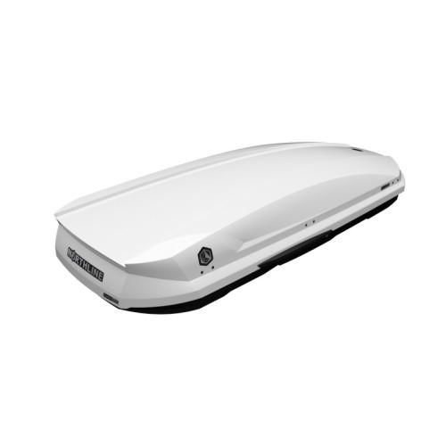 NORTHLINE-Family 420 tetőbox, fényes fehér színű/420 Liter (205x84x35 cm)